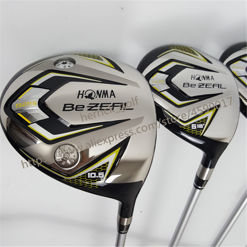 Image 4 - New 525 Golf Clubs HONMA BEZEAL 525 Complete Set HONMA Golf driver.wood.irons.putter Graphite Golf shaft plus bag Free shipping-in Golf Clubs from Sports & Entertainment
