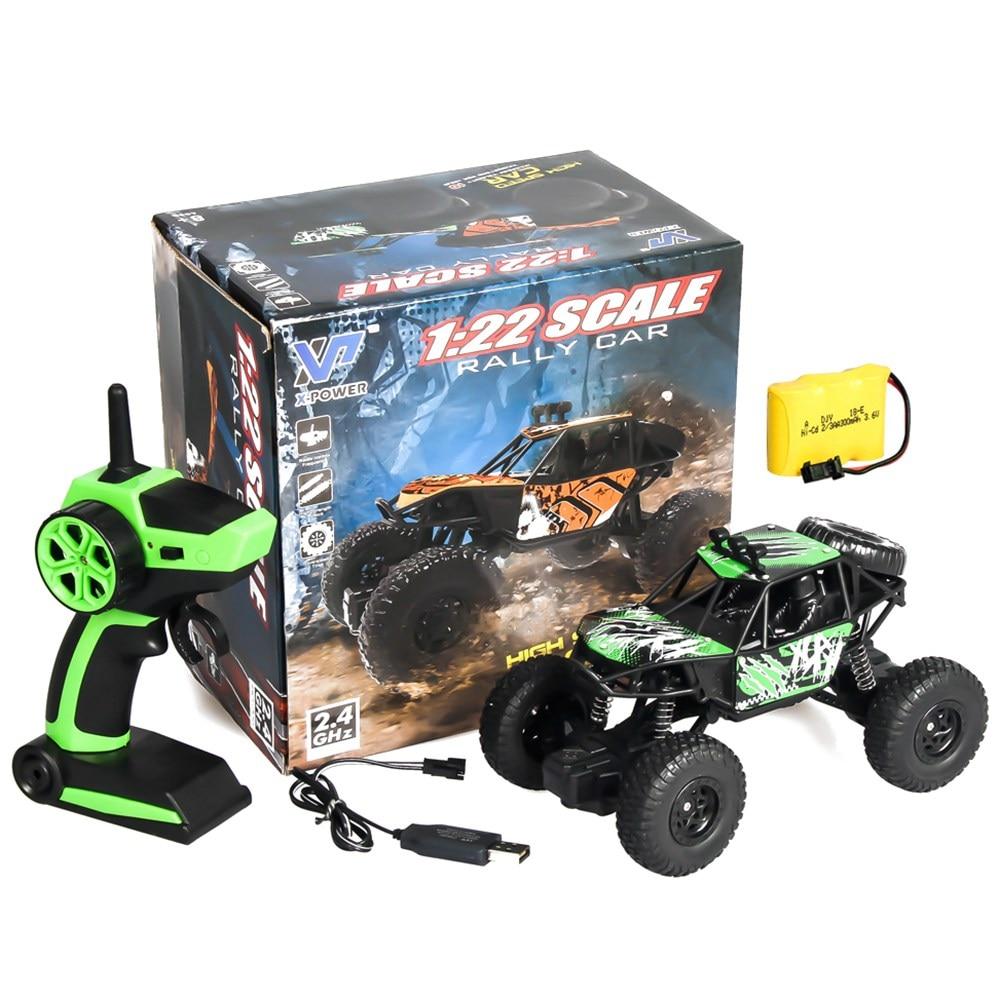 Brinquedo do carro para crianças Carro De Controle Remoto 1:22 Rádio controlado Máquinas 2WD Off-Road de Buggy RC Carro Rc Carro no controle remoto