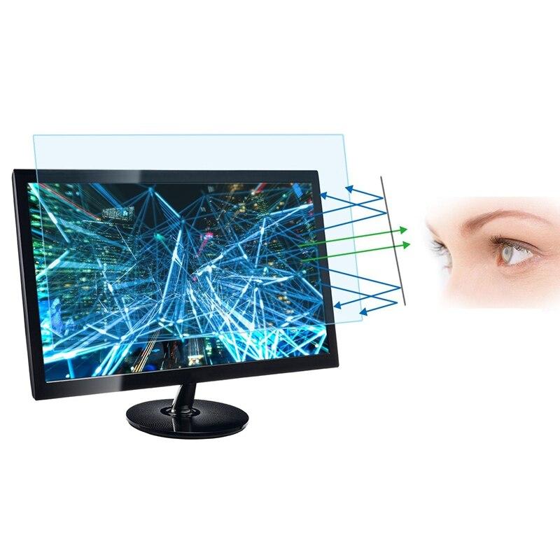 Filtro de Tela Anti Luz Azul De 21.5 Polegadas (505x320 Mm) Widescreen Monitor de Desktop, blocos de Luz Azul Nociva Excessivo, Reduzir