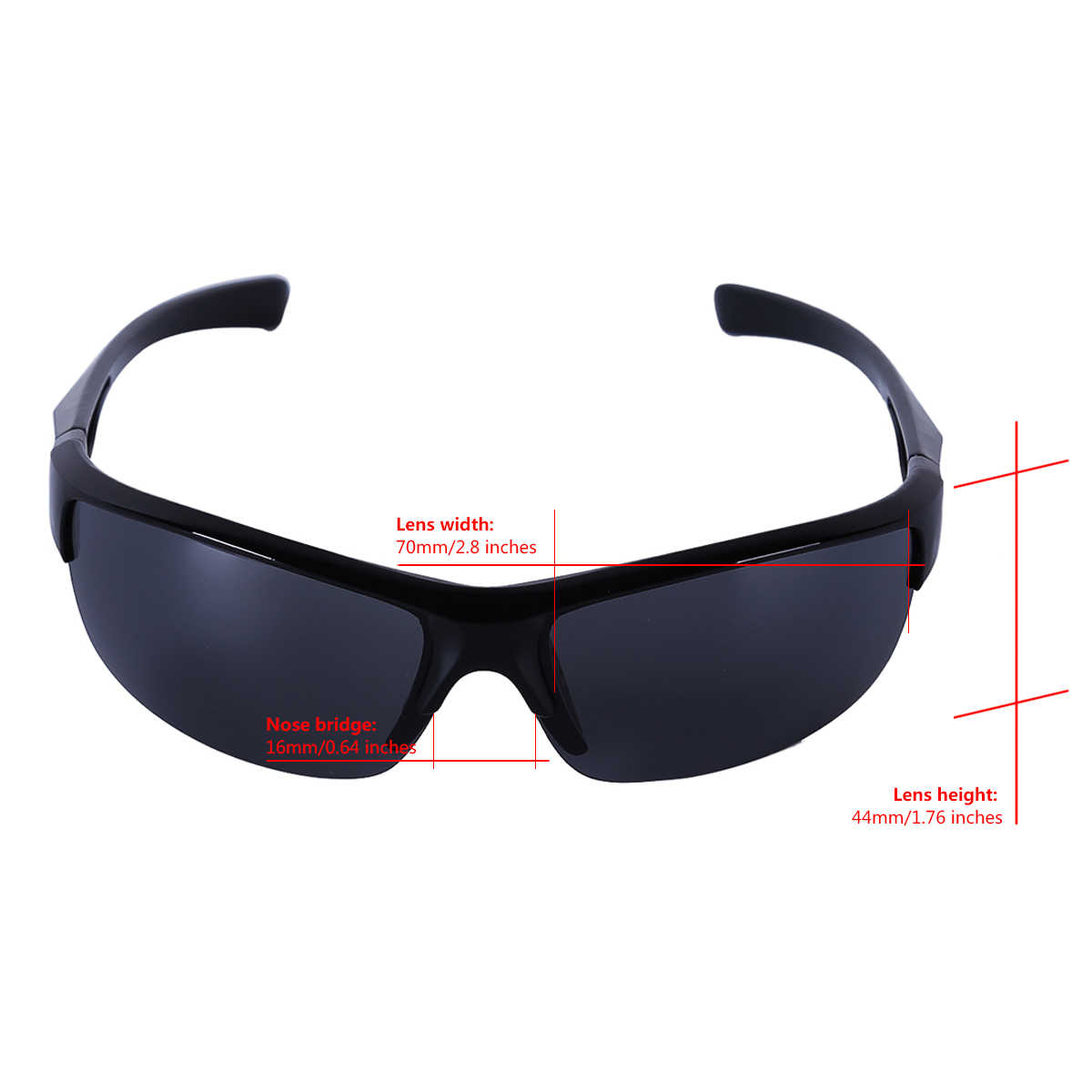 Gafas de sol de moda DPOIS para hombre gafas de sol deportivas UV 400 gafas de sol de Golf para mujer gafas de ciclismo gafas de pesca