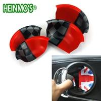 For Mini Cooper Clubman Countryman F54 F55 F56 F60 Car Accessories Union Jack Car Interior Door Handle Decoration Cover Stickers
