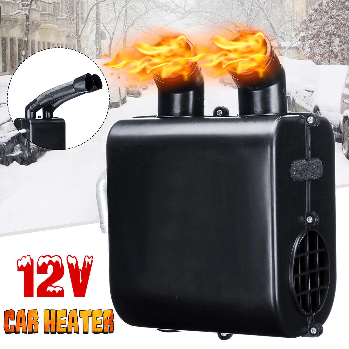12V Electric Fan Heater Heating Portable Auto Car Heater Heating Defroster Windshield Defroster Demister Winter appliances12V Electric Fan Heater Heating Portable Auto Car Heater Heating Defroster Windshield Defroster Demister Winter appliances