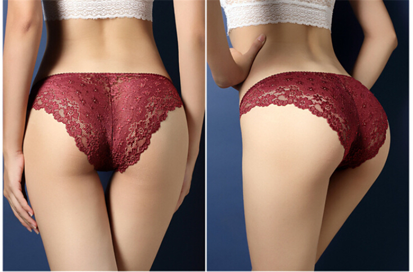 Womens Underpants Lingerie Underwear Women Sexy Knickers Briefs Shorts Pant  Women Lace Briefs Thongs Girl  Breathable Panties