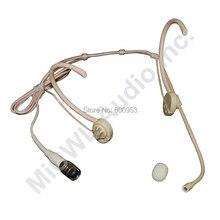 все цены на MiCWL Beige SP12 Wireless Stage Song Microphone For Sennheiser Shure Audio-Technica AKG MiPro Mic Mini 4Pin 3Pin 3.5mm Lock онлайн