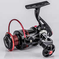 New 13+1BB Spinning Fishing Reel Gear Ratio 5.2:1 2000-7000 Series Metal Front Drag Handle Spool Saltwater Fishing Accessories