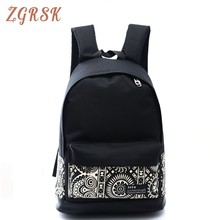 Woman Canvas Backpack Bags For Teenage Girls Middle School Student Male Fashion Back Pack High School Women Backpacks Bag