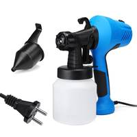 350W Electric Power HVLP Paint Sprayer Airless Electric Spray Gun, 2.5mm Nozzle Easy Spraying and Clean Perfect For Home DIY