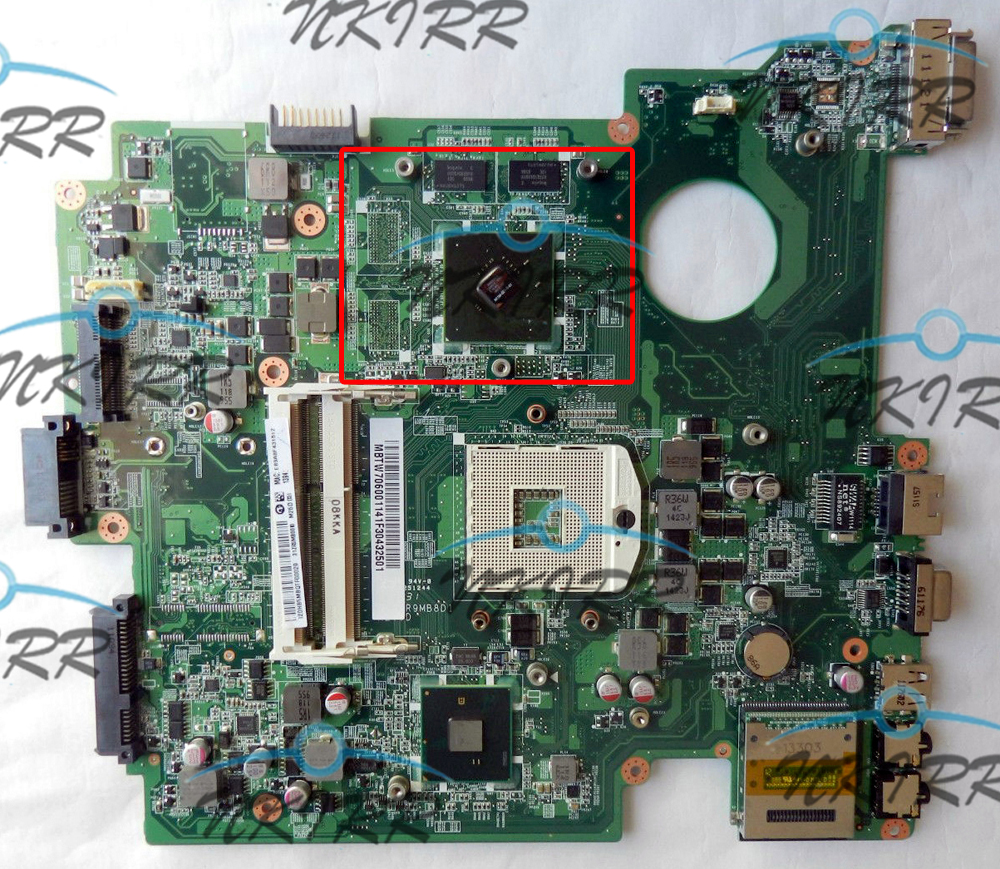 100% working MB.TW706.001 MBTW706001 DA0ZR9MB8D0 DA0ZR9MB8D1 REV:D S989 DDR3 512M MotherBoard for Travelmate 8572 8572T 8572G