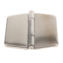 Boat Hinges 316 Stainless Steel Strap Hinges Marine Door Hatch Compartment Hinge with Cover 3.0 x 3.0 inch Marine Hardware