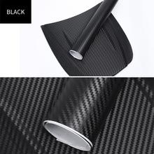 цена на 3D Carbon Fiber Car Stickers Auto Body Tint Color Changing Vinyl Film For Car Styling Waterproof High Quality Car Stickers