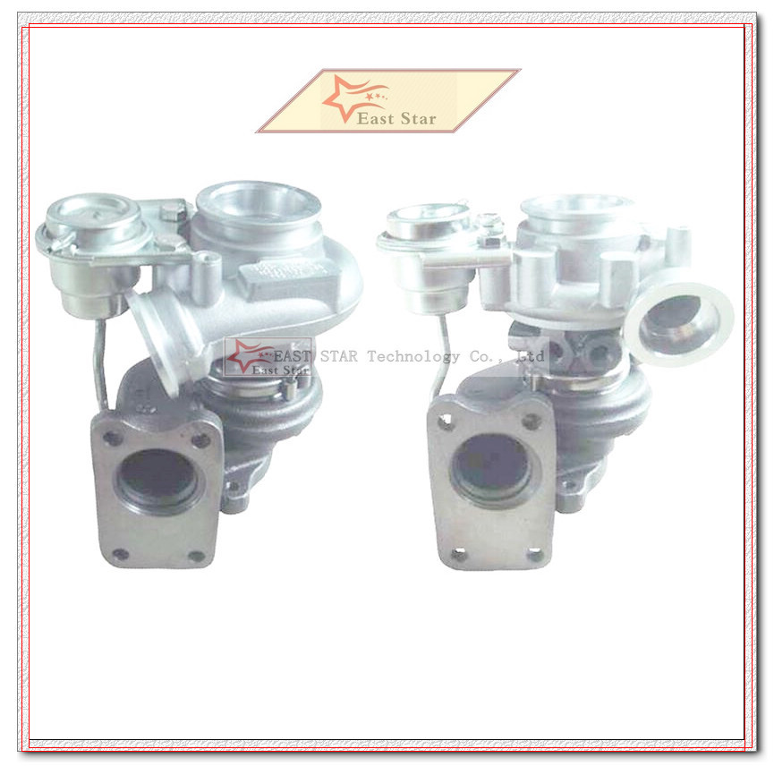 B6284t T6 2.8l 2pc Twin Turbo Td03-08g 49131-05101 49131-05000 49131-05010 8601455 9471564 For Volvo Pkw S80 Xc90 98 Auto Replacement Parts Air Intake System