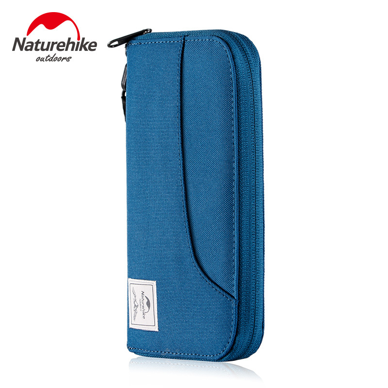 Naturehike Waterproof Outdoor Travel Storage Bag Card Holder Travel Running Bag Blocking Wallet For Air Ticket Cash Passport