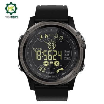 MOKA Fashion Bluetooth Smart Watch Waterproof Digital Sport pedometer Men Clock Ultra-long Standby SmartWatch for ios android