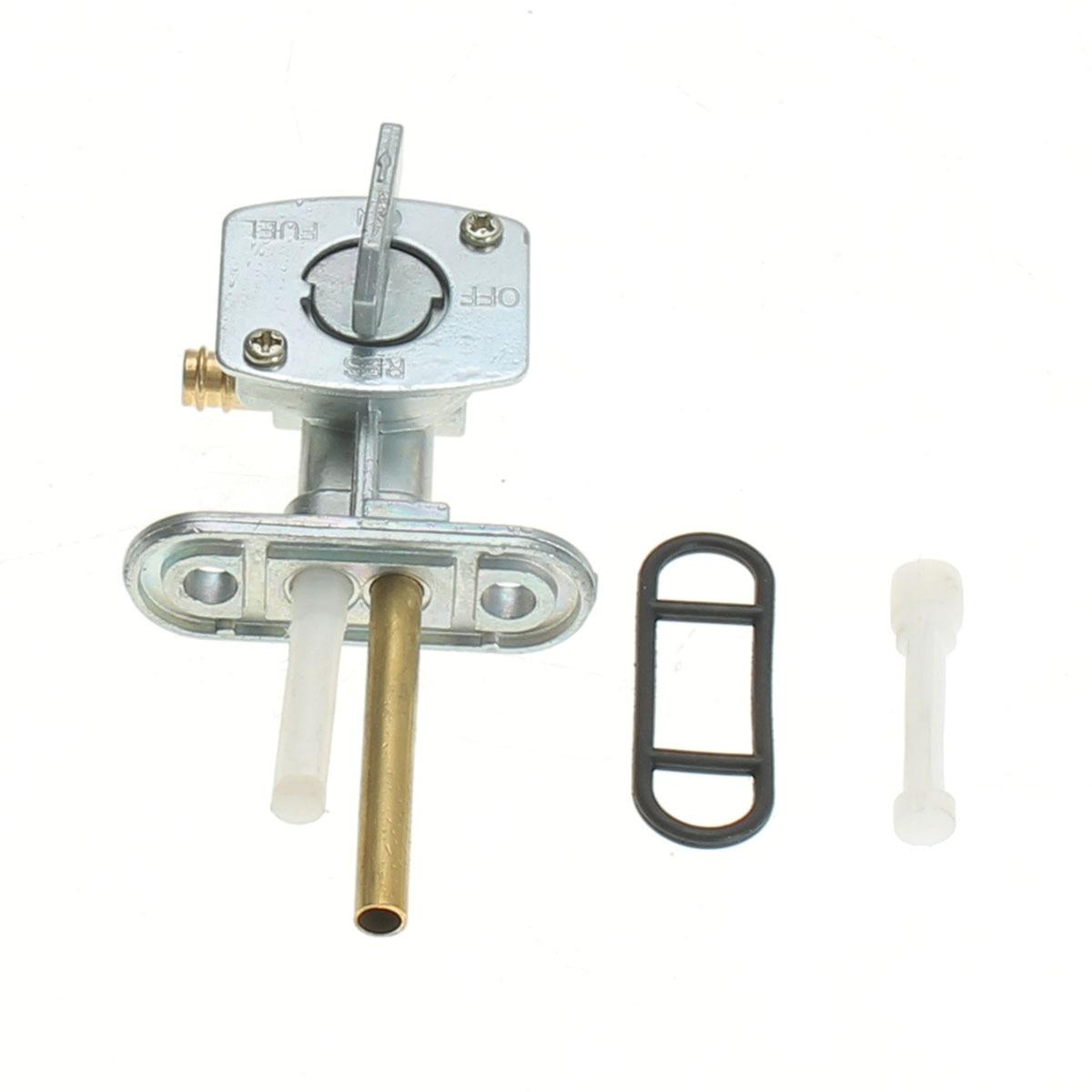 Motorcycle Gas Fuel Petcock Tap Valve Switch Pump For Yamaha Blaster 200 YFS200 1988-2006 Metal Plastic