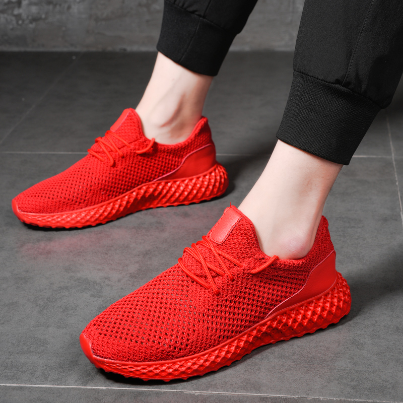New Arrive Mens Sport Running Shoes Professional Training Shoes Lace-up Exercise Sneakers Breathable Athletic Shoes For MenNew Arrive Mens Sport Running Shoes Professional Training Shoes Lace-up Exercise Sneakers Breathable Athletic Shoes For Men