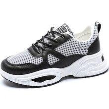 Woman Shoes Mesh Student New Pattern Original Platform Sneakers Tide Women Dad Korean Fashion Tenis Feminino Zapatos De Mujer