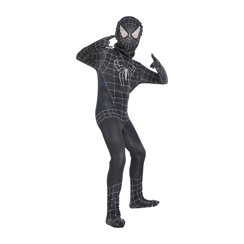 Spiderman Cosplay Costume Kids Iron Spiderman Costume Homecoming Bodysuit Jumpsuit Venom Spiderman Costume Child Classic Cosplay