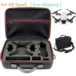 Image 1 - 2018 NEW Portable Drone Case EVA Hard Shell Shoulder Bag Storage Bags Handle Box For DJI Spark Drone Accessories