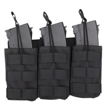 High Recommend 1 Pcs WST Triple Stacker Magazine Pouch Bag Case For G36 Mag - CP/Green/Tan/Black(China)