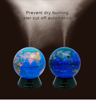 2018 creative aromatherapy machine humidifier world earth atlas globe desktop ultrasonic essential oil aromatherapy