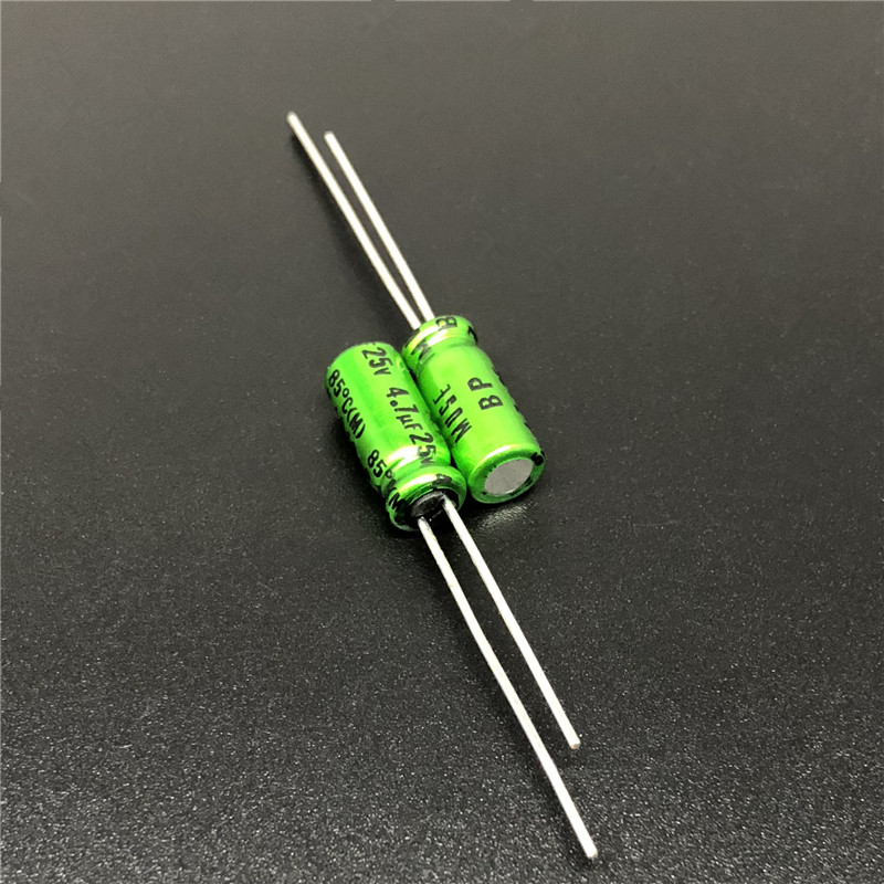 10Pcs/100Pcs 4.7uF 25V NICHICON Muse BP 5x11mm 25V4.7uF Top Grade Bipolar Audio Capacitor