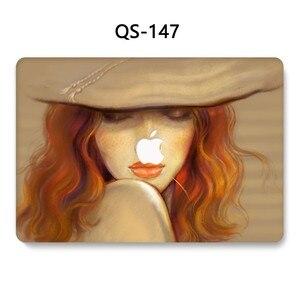 Image 2 - עבור מחשב נייד שרוול עבור MacBook רשתית 11 12 עבור מחברת מקרה MacBook 13.3 15.4 אינץ עם מסך מגן מקלדת קוב