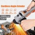 188/218vf 29800mah Elektrische Winkel Grinder Cordless Polierer Polieren Maschine Schneiden Werkzeug Set mit Lithium-akku