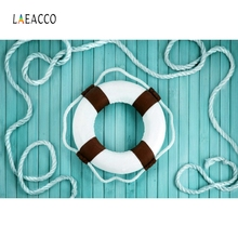 Laeacco Wooden Board Backdrop Swimming Ring Photography Backgrounds Customized Photographic Backdrops For Photo Studio