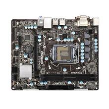 Оригинальная материнская плата для настольных ПК ASRock B75M-DGS LGA 1155 B75 USB3 протестируется перед отправкой