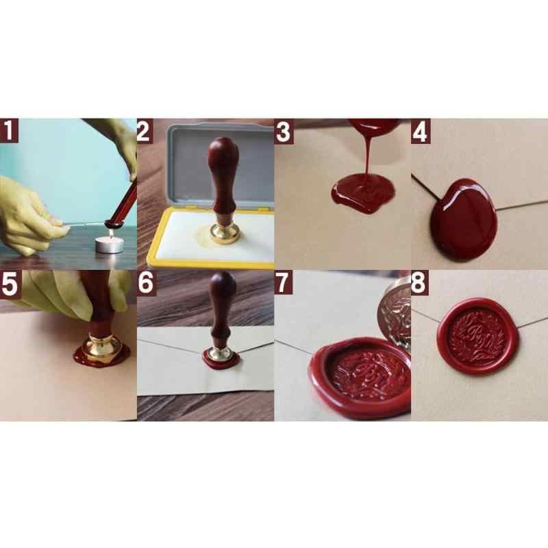 12 созвездий DIY ретро деревянный штамп таможенное страхование уплотнение воск печать DIY декоративные буквы деревянные штампы ремесло подарки