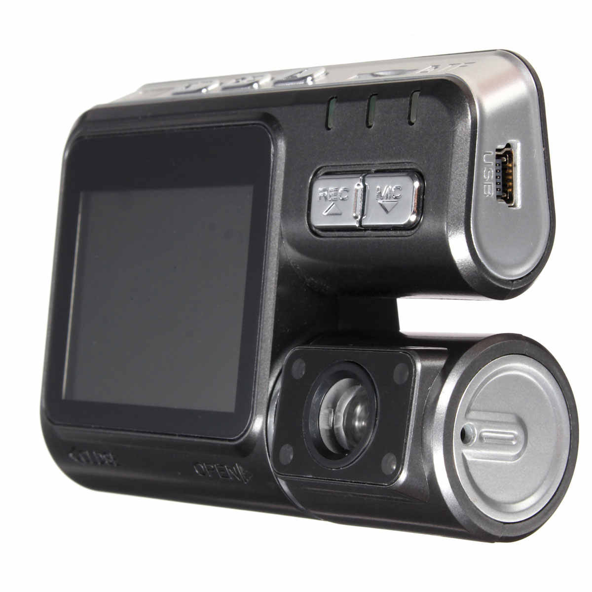 2,0 дюймов HD TFT 120 градусов HD автомобиль DVR камера видеорегистратор фронтальный рекордер камера ночного видения g-сенсор до 32 Гб