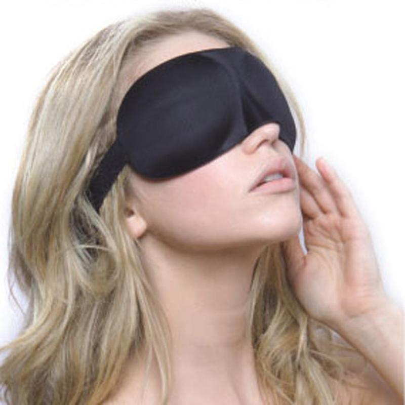 2PCS 3D Sleeping Eyeshade Eye Mask Blindfold Cover Soft Blind Pack Travel  Accessories Sleep Mask Sleeping Care