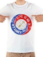 Apollo Soyuz Mission Retro Abzeichen lustige geek t hemd homme neue weiß casual kurzarm t hemd männer