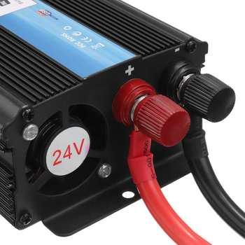 KROAK Car Inverter 12V 220V 5000W Pe ak Car Power Inverter Voltage Transformer Converter 12V To 220V Solar Inversor Black Style 5