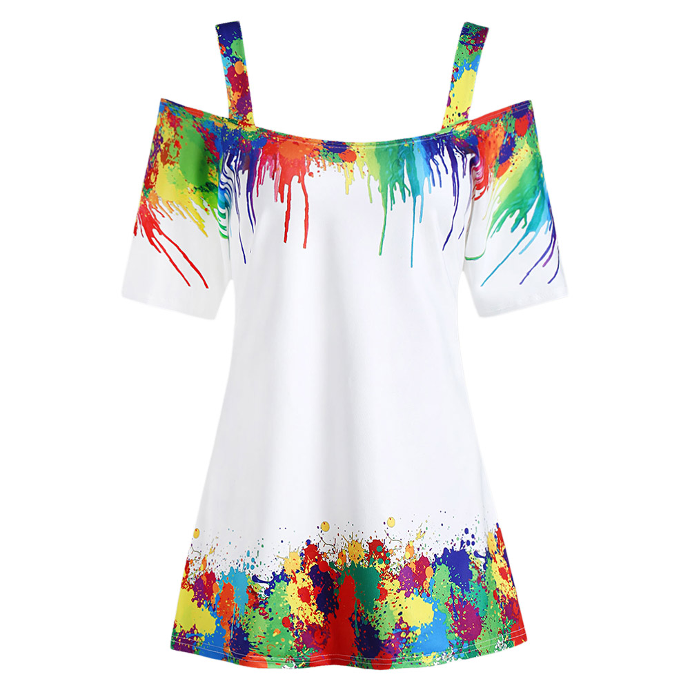 2725ad86a937e Buy plus size tie dye and get free shipping on AliExpress.com