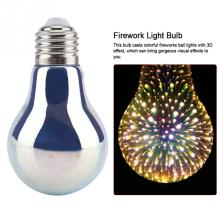 LED E27 Bulb Light Colorful Firework Lamp for Christmas Festivals Decoration Hot Sale