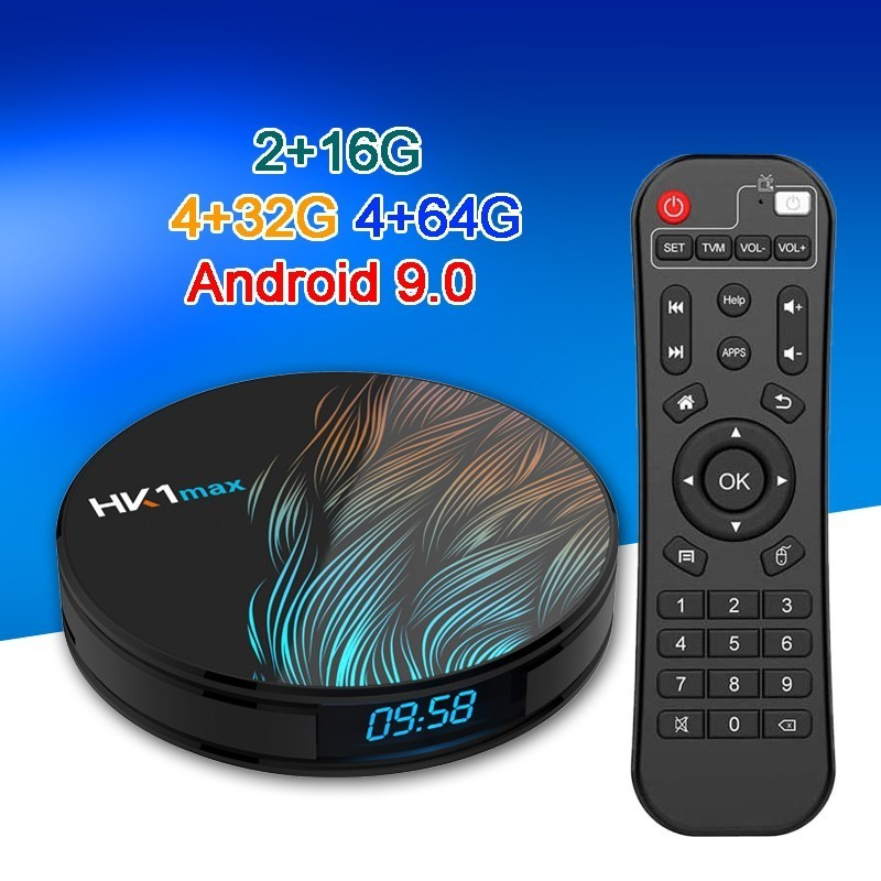 スマートアンドロイド 9.0 Tv ボックス Hk1 最大 4 ギガバイト 64 ギガバイトな rockchip Rk3328 4 コア 2.4 5.8 グラムデュアル wifi USB3.0 1080 1080p 4 18k Google Youtube セットトップボックス  グループ上の 家電製品 からの セット トップ ボックス の中 1