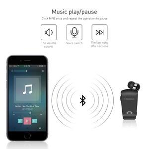 Image 4 - Original Fineblue L18 Mini Wireless Headset mit tragbare Tasche anzug Sport Fahrer business Bluetooth In Ohr Kopfhörer mit Mic