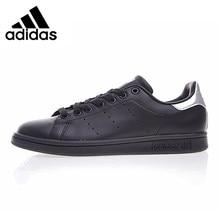 0662eacf8b9 Adidas Klaver STAN SMITH heren Wandelschoenen Zwart Slijtvast Evenwichtige  Ademend Antislip Comfortabele Sneakers # BB5156
