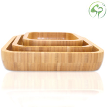 Family Food tray Dinner Tray Dining plate Pizza Tableware Snacks Desserts Salad Fruit Plate Household Kitchen Utensils Dishes wooden tray beech rectangular with handle bread board pizza plate plate kitchen utensils