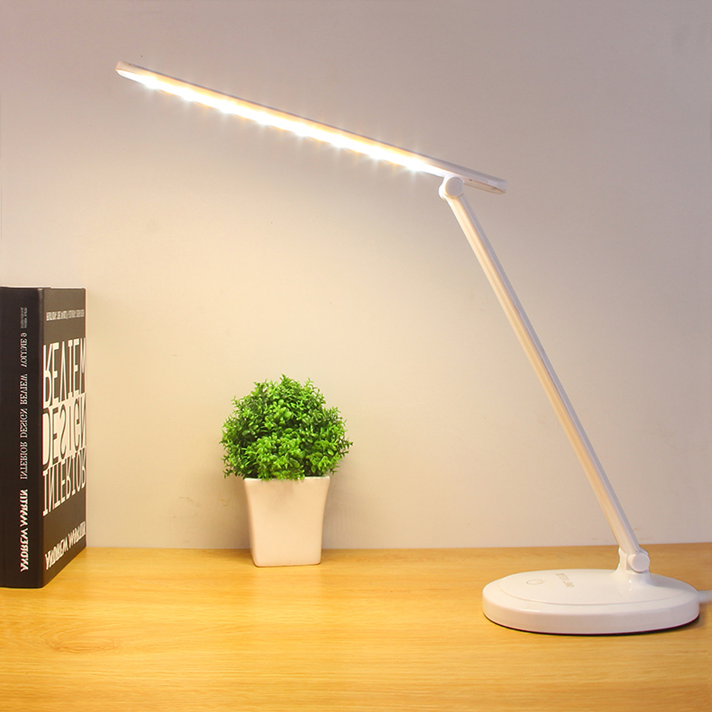 Led Stand Desk Lamp Modern Office Reading Table Light Touch