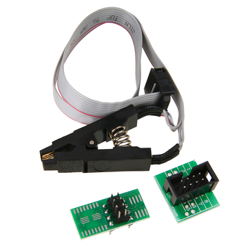 Новый 1 комплект для электрических EEPROM BIOS USB программатор CH341A +  1,8 V & SOIC8 адаптер + SOIC8