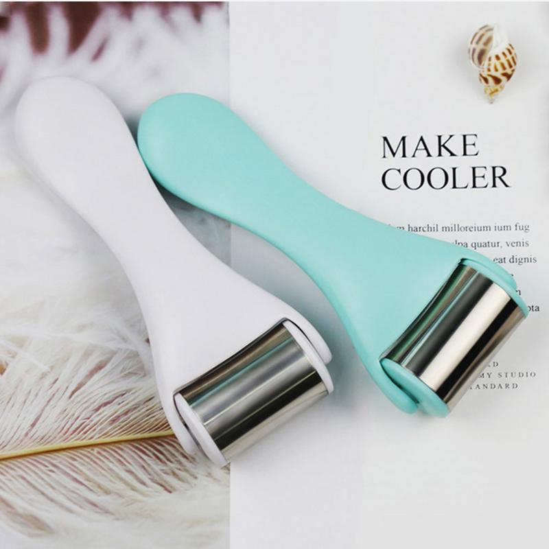 1pc rosto gelo massagem cuidados equipamento rugas remover vara levantamento encolhendo poros rolo do músculo gelo fazer a pele impecável