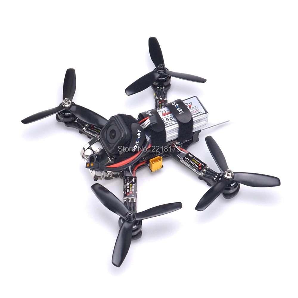 Rooster 230 Quadcopter Kit Naze32 Rev6 F3 flight controller GTS2305 2700kv Motor Littlebee 30A S ESC