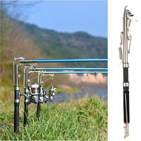 Автоматическая Удочка 2,4/2,7 м Чувствительная телескопическая удочка морское устройство кракелированное стекло волокно Карп рыболовные сна...