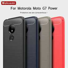 Mokoemi Fashion Shock Proof Soft Silicone 6.2For Motorola Moto G7 Power Case For Motorola Moto G7 Power Cell Phone Case Cover mbr cell power neck
