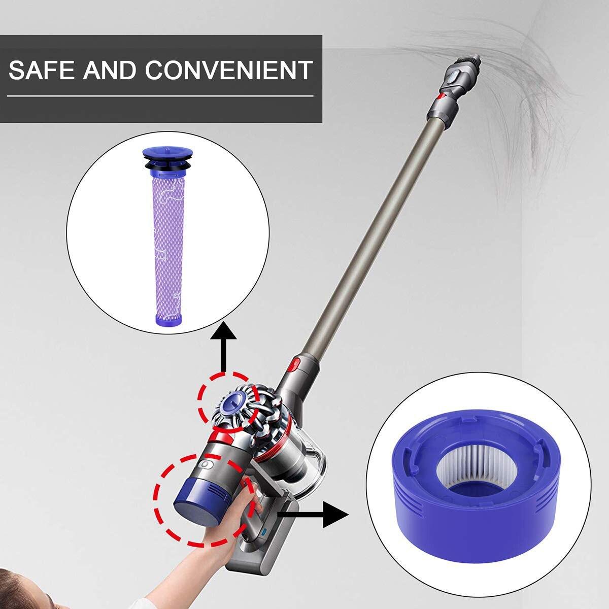 Как заменить фильтр в пылесосе дайсон сушилка для рук автоматическая dyson