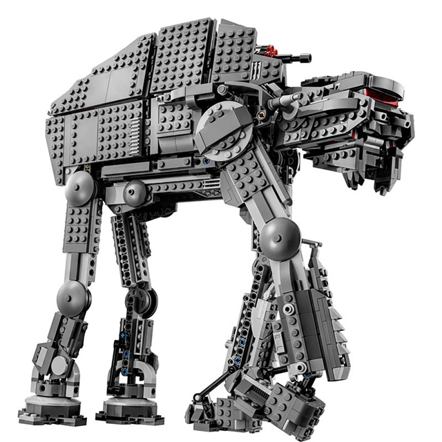 05050 05130 Star plan 75054 AT Model AT robot The First Order Heavy Assault Walker Wars Toys Building Block Brick Gifts Legoings