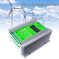1200 Вт MPPT Солнечный ветер гибридный Boost контроллера заряда 12 В 24 В Применить для 800 Вт 600 Вт ветряной генератор + 600 Вт 400 Вт солнечных панелей