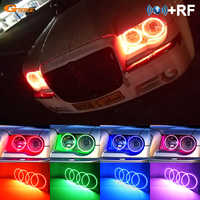 Für Chrysler 300C 2004 2005 2007 2008 2009 2010 RF Bluetooth APP Controller Multi-Farbe Ultra helle RGB LED angel Eyes kit